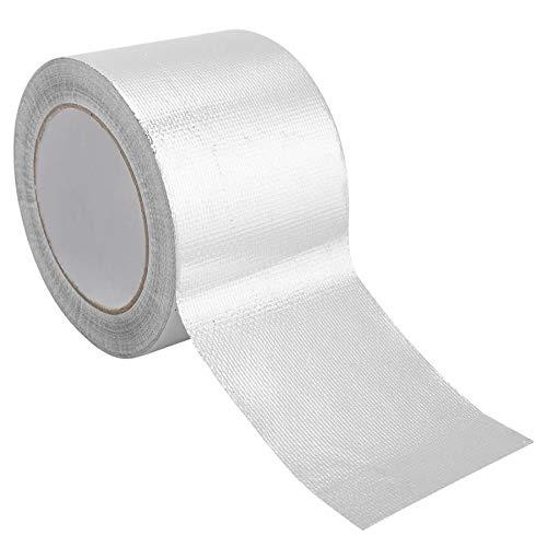 NO LOGO LIU-Shun-BAO 8 * 25cm Aluminiumfolie Klebeband Thermoresist Duct repariert Klebebänder mit hoher Temperaturbeständigkeit