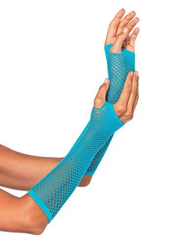 Leg Avenue 2024 - Fingerlose Handschuhe, neon blau