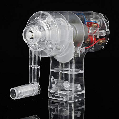 feilai Lab & Scientific Supplies Handkurbel, manuell, elektronisch, mechanisch, Physik-Experiment