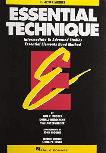 [(Essential Technique - Eb Alto Clarinet Intermediate to Advanced Studies (Book 3 Level))] [Author: Rhodes Biers] published on (May, 1993)