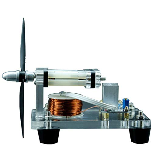 HSART Bürstenlosen Motor Hallmotor Mikro Hochgeschwindigkeitsmotor Acrylmaterial Sehr Gut Geeignet Für Demonstrationsunterricht