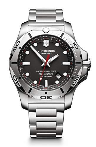 Victorinox Herren I.N.O.X. Professional Diver - Analoge Quarzuhr aus Edelstahl von Swiss Made 241781