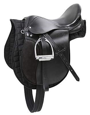 Kerbl 5-Piece Leather Pony Saddle Set