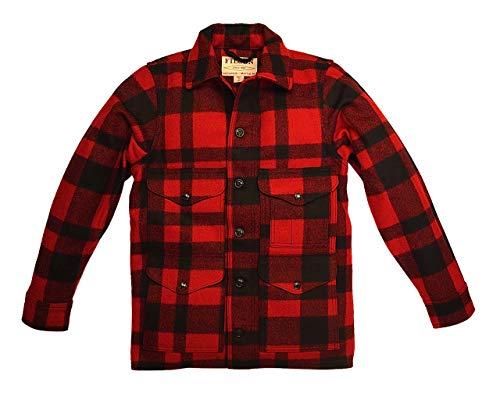 FILSON フィルソン 11010043 MACKINAW CRUISER RED X BLACK メンズ マッキーノ クルーザー サイズ M [並行輸入品]