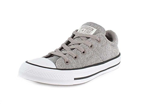 Converse Womens Chuck Taylor All Star Madison-Ox Low-Top Mercury Grey/Mouse Sneaker - 5