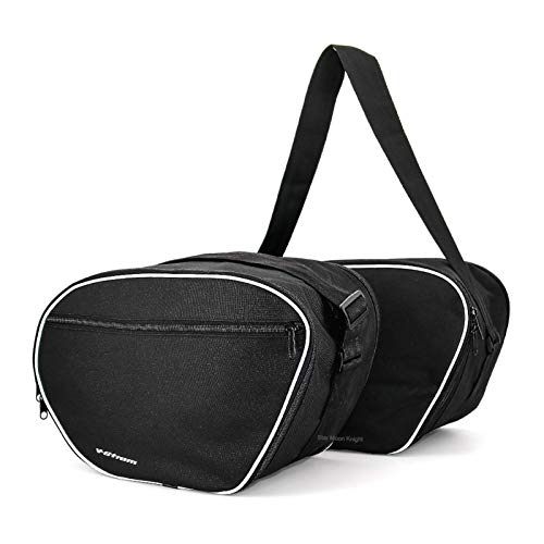 wenxin Motorcycle Luggage Bags Expandable Inner Bags Black Trunk Inner Bags Fit For SUZUKI V-Strom 1050A / XT VSTROM 1050A,Motorcycle Seat Bag