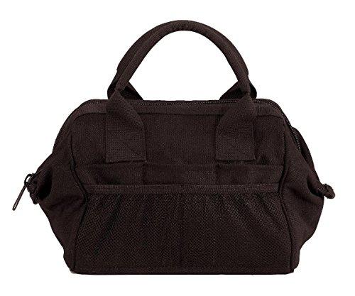 Rothco Heavyweight Canvas Platoon Tool Bag, Black
