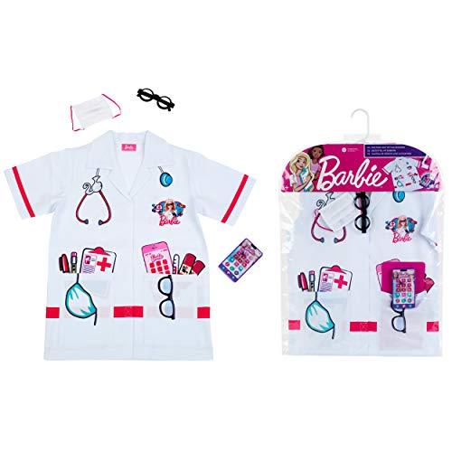 Theo Klein 4117 Barbie Arztkostüm mit Zubehör, Unisex-Kinder, Bunt