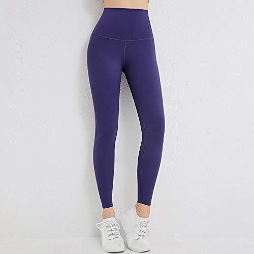 Lankfun Pantalones de Yoga de Control de Abdomen de Cintura Alta,Pantalones de Yoga de Levantamiento de Cadera Transpirables y de Secado rápido para Mujer-C_Medium,Mallas de compresión
