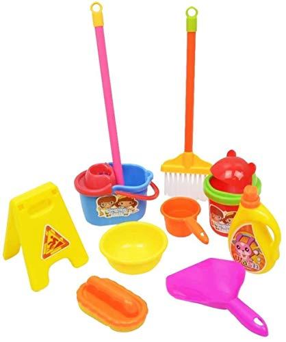 WXH SLL- Kinder Reinigung und Hygiene-Spielzeug-Set (3 Stück)