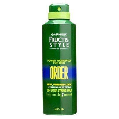 Garnier Fructis Style Power Hair Spray for Men Order 6 Oz Pack of 3