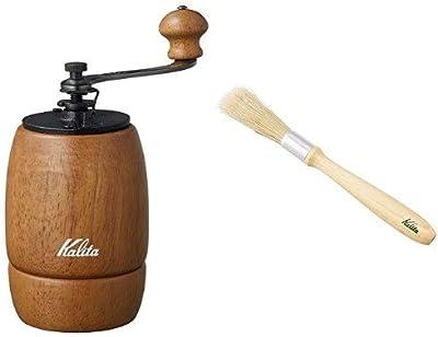 【セット買い】 カリタ コーヒーミル 手挽き KH-9+お手入れ用ブラシセット