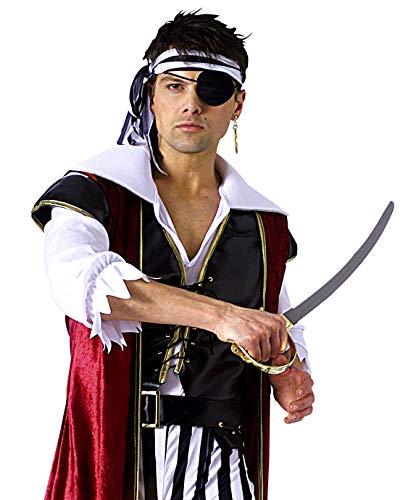 Rubies Officielle Accessoires de Pirate pour Adulte (Taille Unique)