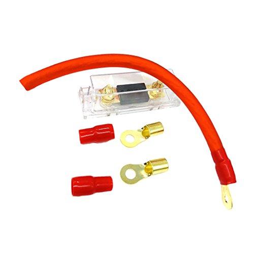 Sharplace 300 Ampere Inline Sicherungshalter Sicherungshalter Block Sicherungskasten für alle Fahrzeuge