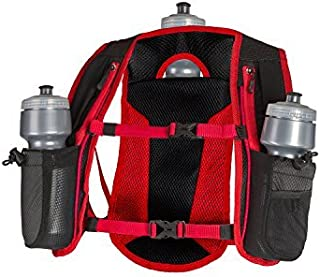 SLS3 Hydration Pack | Small Hydration Vest for Running| 3 Water Bottles (72oz) | Ultra Trail Water Backpack | Designed by Athletes for Athletes