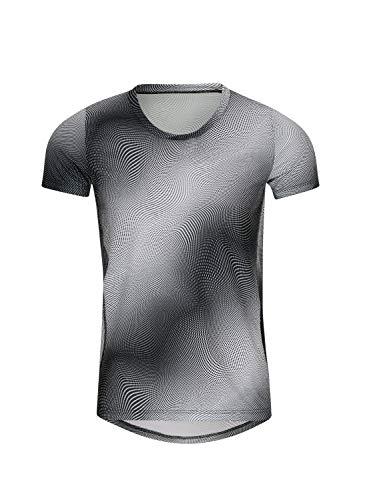 Trigema Herren Coolmax® Sportshirt mit modischem Druck