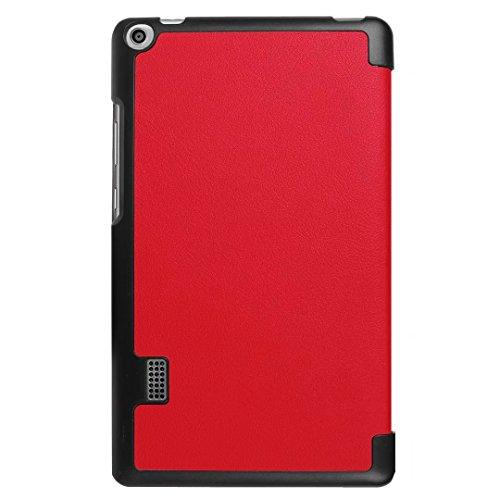 Huawei MediaPad T3 7 Hülle, Xinda Ultra Slim Lightweight Schutzhülle Etui Tasche für Huawei MediaPad T3 7.0 Zoll (Wifi BG2-W09) Tablet( NOT for Huawei MediaPad T3 7 LTE!) - 3