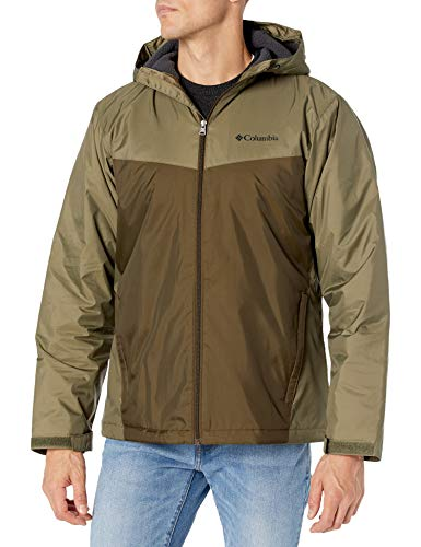 Columbia Men's Jackets, Stone Green/Olive Green, Small