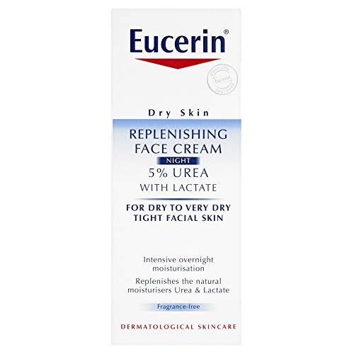 Eucerin Dry Skin Replenishing Face Night Cream - 5% Urea 50ml
