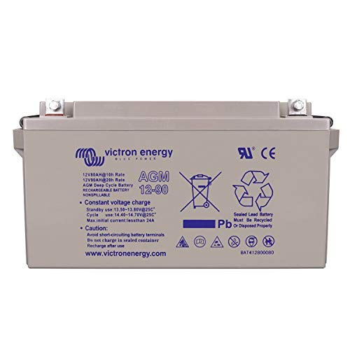 Batterie solaire 90ah agm 12v - victron energy