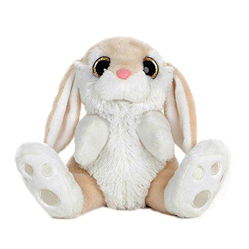 BARRADO Conejo de Peluche Sentado - Calidad Super Soft (Marron Claro, 45cm)