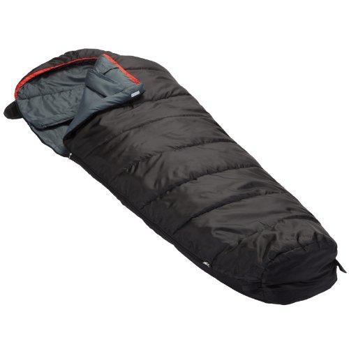 skandika Mumienschlafsack Alaska Rundum-Reißverschluss mit Abdeckung bis -10°C