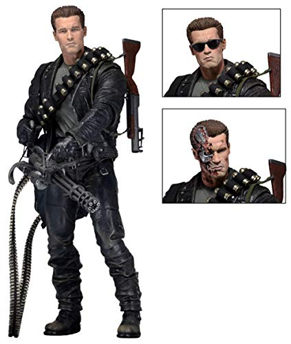 LLly NECA Terminator Future Soldier 2 T800 T2 Arnold Figurenmodell, Lieblingsspielzeug Der Anime-Fans, Actionfigur 17cm