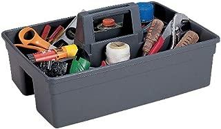 General Purpose Tool Caddy, 2 Pockets, Gray