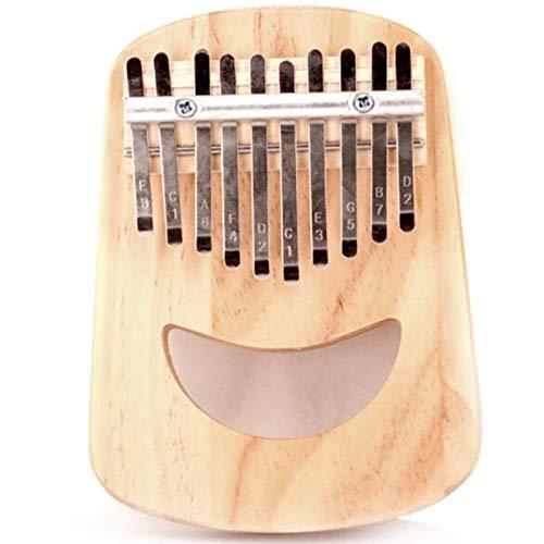Sin logotipo CXZA 10 teclas, 17 teclas Kalimba pulgar piano cara sonriente instrumento musical tradicional portátil gran regalo envío de entrega