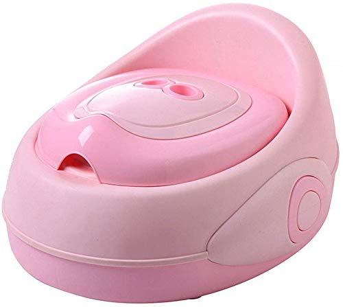 JYFLY Baby Kleinkind Schöne Töpfchen Toilette Komfort Toilette Urinal Töpfchen Stuhl Sitz Tragbar mit Spritzschutz und Rückenlehne