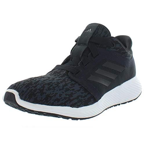 adidas Women's Edge Lux 3 Running Shoe Black/Carbon, 8 M US