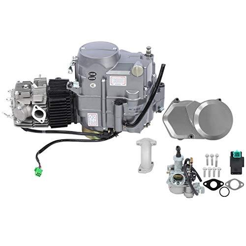 Demeras 125CC Motor de 4 Tiempos Motor de Bicicleta eléctrica Accesorios de conversión de Bicicleta eléctrica para conversión de Bicicleta