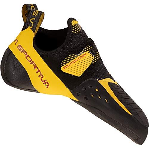 LaSportiva Solution Comp Herren Kletterschuh Black/Yellow - 39,5