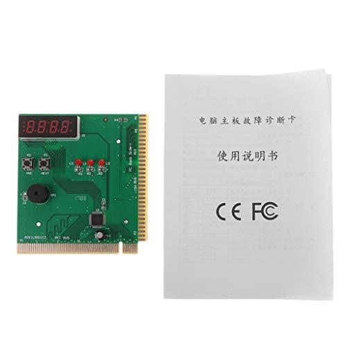 Mikiya 4-cijferige PC-postkaart met diagnoseweergave voor moederbord PCI en ISA