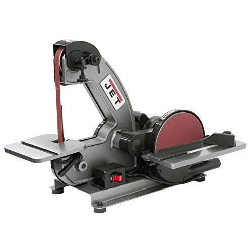 Jet Tools - J-4002 1 x 42 Bench Belt and Disc Sander (577003),Brown