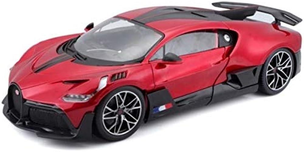 Bugatti divo,modellino da collezione  scala 1:18, bburago BUG09E