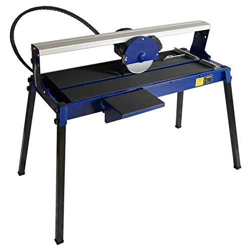 Banco Cortador de Azulejos Húmedos Máquina Corta Azulejos Eléctrico Hoja de Diamante de Corte Láser Ajustable 720mm 800W