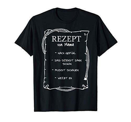 Mutter Lieblingsrezept Geschenk | Kochrezept & Mamas Rezept T-Shirt