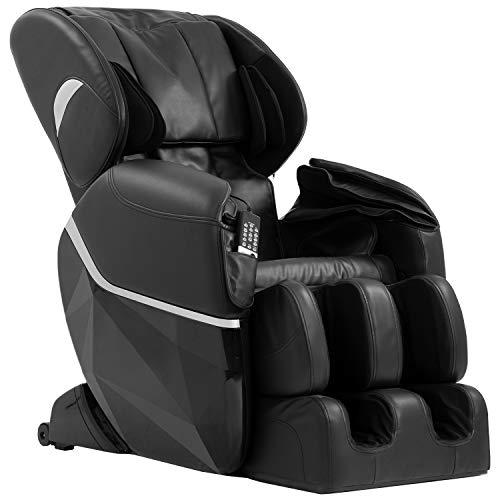 Mr Direct Electric Full Body Shiatsu Massage Chair Foot Roller Zero Gravity w/Heat