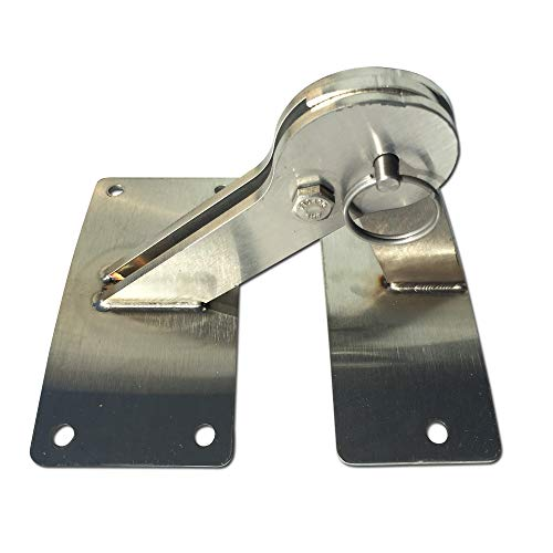 Stainless Lid Hinge Kit compatible with Weber Smokey Mountain Grill 18.5 22.5 quick release