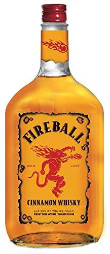 Fireball Cinnamon Whiskey, 1.75 L, 66 Proof