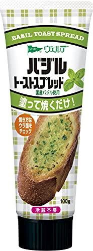 アヲハタ ヴェルデ バジル トースト スプレッド 国産 バジル 使用 100g×4個