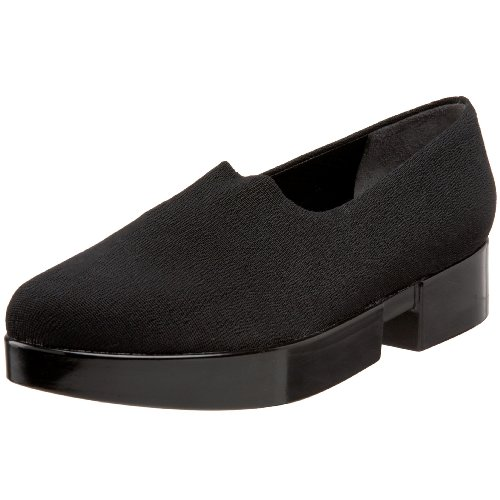 Robert Clergerie Women's Wattx Slip On,Black Strech,5 M US