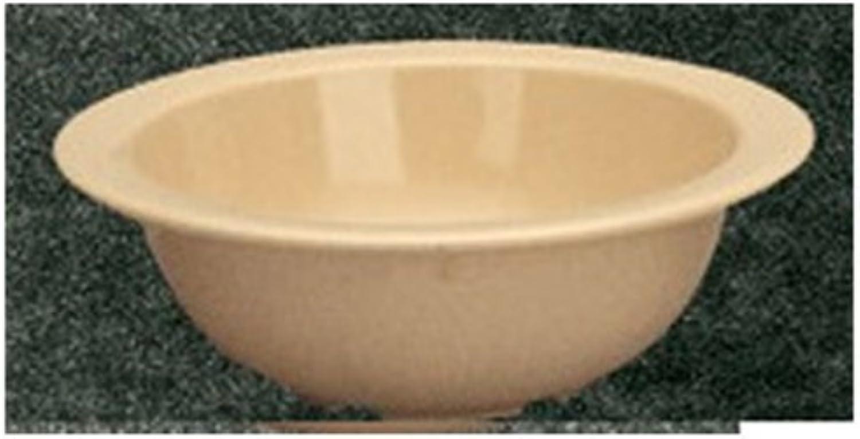 Yanco NS-305T Nessico Grapefruit Bowl, 10 oz Capacity, 2  Height, 5.625  Diameter, Melamine, Tan color, Pack of 48