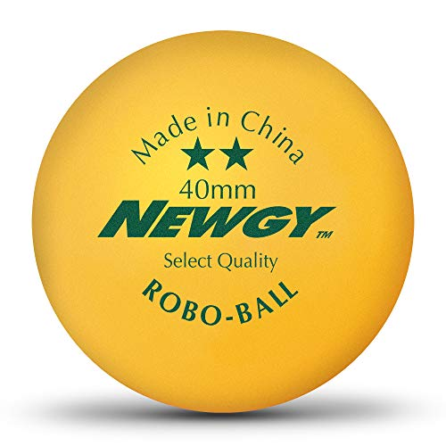 Newgy Robo-Balls - Gross (144) Orange Ping-Pong Balls