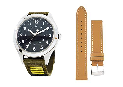 [ フルメタル パニック IV ミスリル支給品腕時計 テレサテスタロッサ大佐モデル 革ベルトセット ] フルメタ テッサ コラボ コスプレ
