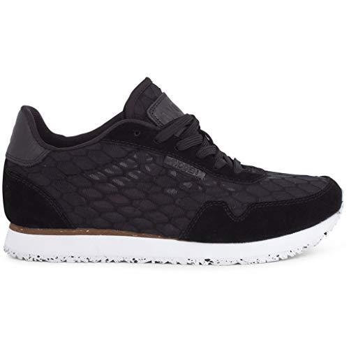 Woden Sneakers Ydun Textile, 020 Black, 38 EU