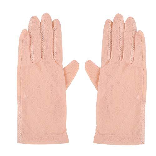 KESYOO - Running-Handschuhe für Mädchen in Beige, Größe 23 × 9 × 0,1 cm