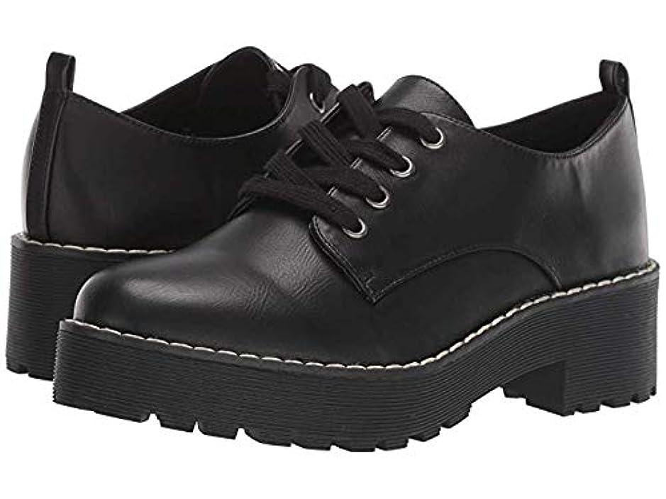 スワップ結果アカウントレディースレースアップ?オックスフォード?靴 Melodies Black Smooth (25cm) B - Medium [並行輸入品]