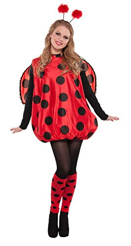 Amscan International - Costume di carnevale, motivo: Coccinella, per adulti